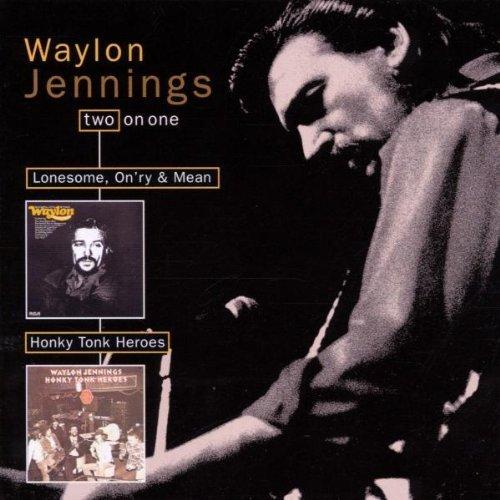 WAYLON JENNINGS - Honky Tonk Heroes/Lonesome On
