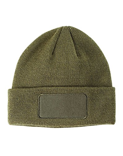 BX PATCH BEANIE (OLIVE) (OS)