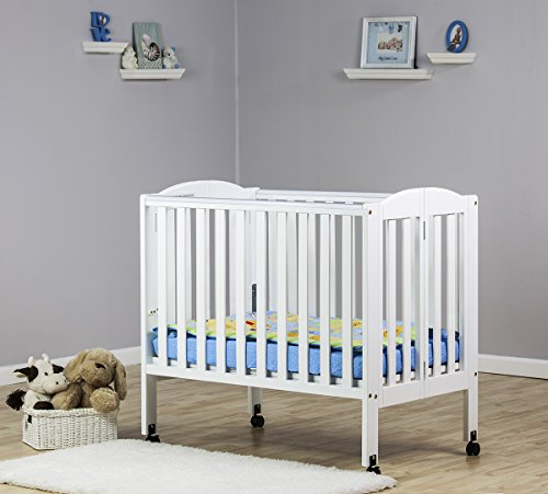 dream-on-me-2-in-1-portable-folding-stationary-side-crib-white