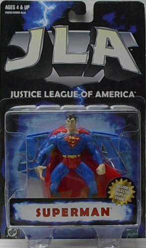 Buy Low Price Hasbro JLA JUSTICE LEAGUE OF AMERICA:SUPERMAN ACTION FIGURE (B000CSP140)