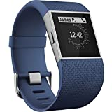 Fitbit Surge Ultimate Fitness Super Watch, Small(Blue) Image