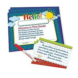 Teacher Peach Welcome-to-Third-Grade Kit