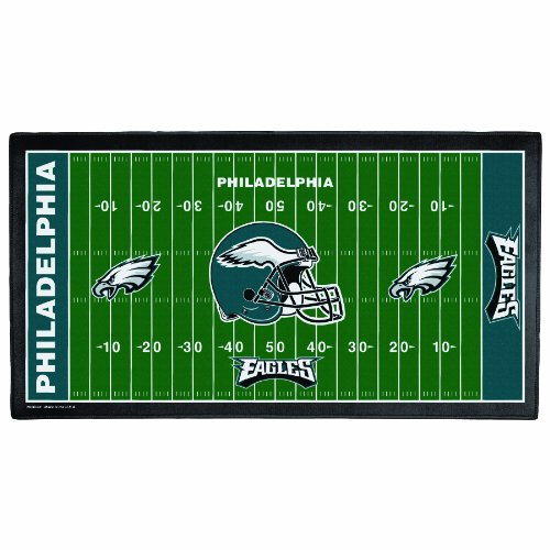 NFL Philadelphia Eagles 28 x 52-Inch Floor Mat at Amazon.com