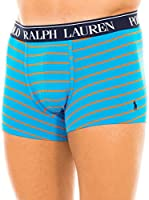 Ralph Lauren Bóxer Classic (Cielo / Naranja)