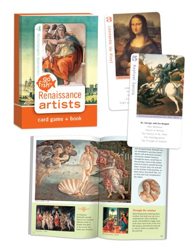 Go Fish for Art Renaissance Cards Card Game - 1