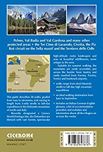 Shorter Walks in the Dolomites (Cicerone Walking Guide) from Cicerone Press