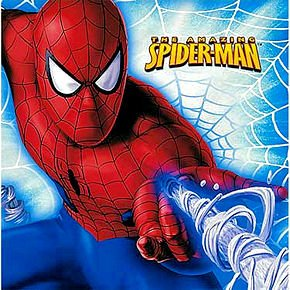Spiderman Lunch Napkins 16ct - 1