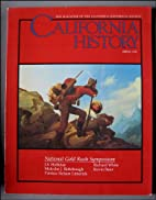 California History, The Magazine of the…
