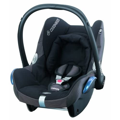 Maxi-Cosi CabrioFix Group 0+ Infant Carrier Car Seat (Black Reflection)