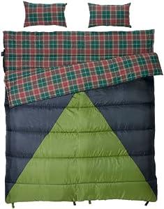 Slumberjack Bonnie & Clyde 30 40 Degree Double Sleeping Bag by Slumberjack