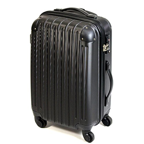 ABS スーツケース  006 【ブラック】 S / LYP006-BK-S / ###ケースLYP006-S黒###