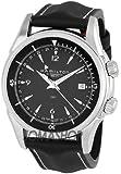 Hamilton Men's H32615835 Jazzmaster GMT Traveler Black Dial Watch