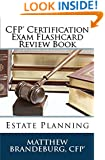 CFP Certification Exam Flashcard Review Book: Estate Planning (4th Edition)