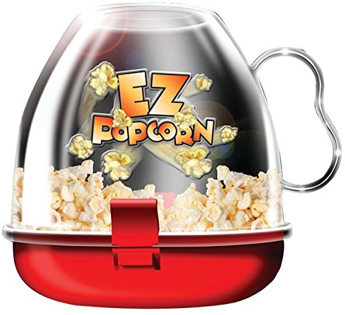 Viatek - Ez Popcorn Maker [2 Pieces] *** Product Description: Viatek - Ez Popcorn Maker 4-Cup Capacity Poppedless Expensive Per Serving Than Store Bought Microwave Popcorn Healthy Alternative To Bag Popcorn Popping Time From 1.6 Min - 4 Min Serve ***