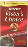 Tasters Choice House Blend Instant Coffee, 7-Count Sticks (Pack of 12)