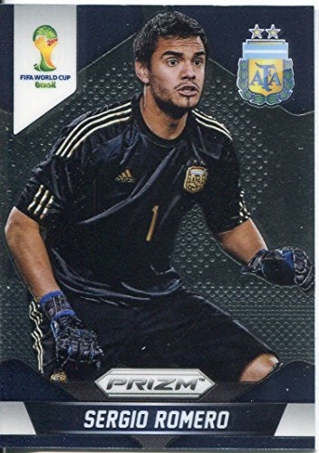 Panini Prizm World Cup 2014Base Card # 4Sergio Romero