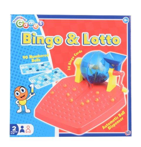 Bingo & Lotto - Jeu de Bingo et Lotto - Distributeur de Numéro+ Cartes