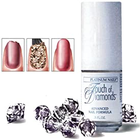 Touch of Diamonds Deluxe Nail Hardener with Diamond Particles