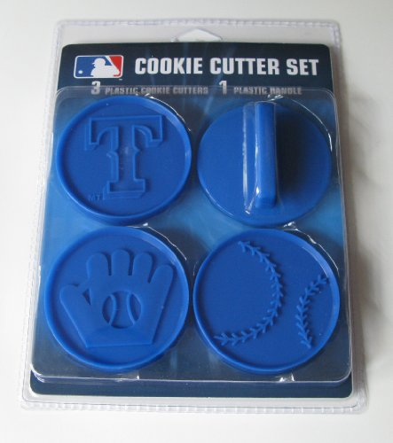 MLB Texas Rangers Officially Licensed Set of Cookie Cutters