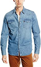 Levi's Men's Barstow Western Regular Fit Long Sleeve Casual Shirt