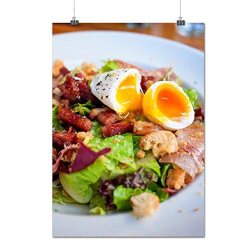 Frais Délicieux Salade Manger Matte/Glacé Affiche A0 (119cm x 84cm) | Wellcoda