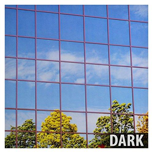 BDF S15 Window Film One Way Mirror Silver 15 (Dark) - 24in X 14Ft (Mirror Tint For Windows compare prices)