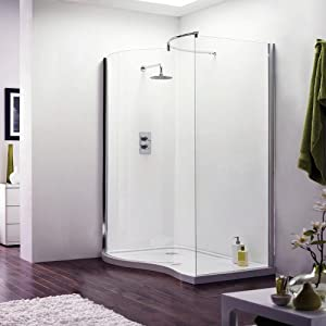 shower enclosure with base