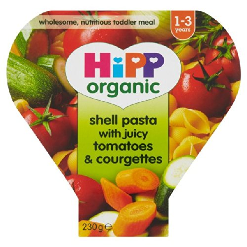 HiPP Organic Shell Pasta with Juicy Tomatoes & Courgettes 230g