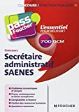 Pass'Foucher - Concours Secrétaire administratif SAENES