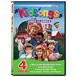 Kidsongs: Video Classics 4 Pack