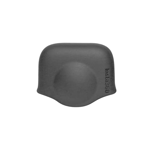Insta360 Lens Cap for ONE X Panoramic Action Camera, Silicone, Black