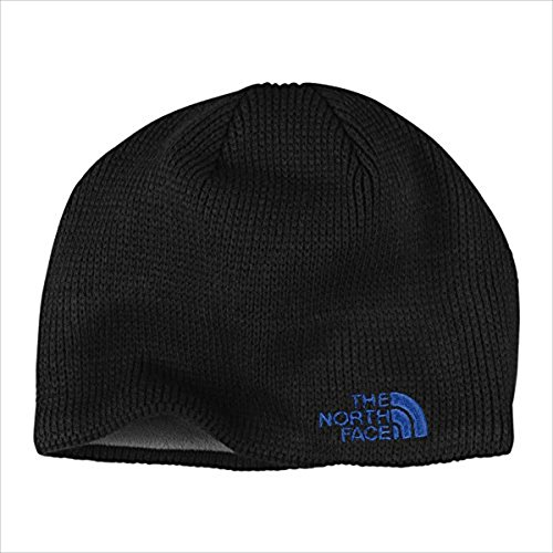 The North Face Bones Beanie, TNF Black/Monster Blue, One Size