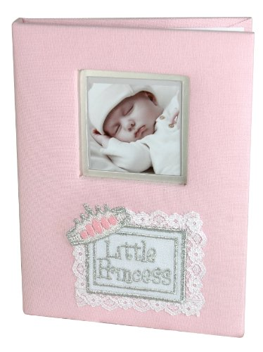 Stephan Baby Little Princess Keepsake Mini Photo Album Brag Book, Pink