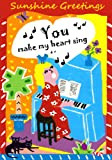 img - for Sunshine Greetings: You Make My Heart Sing book / textbook / text book