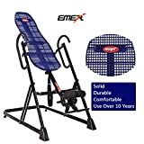 EMER 330 LBS, Lumbar Support,Pro Deluxe Inversion Therapy Table for Fitness and Exercise