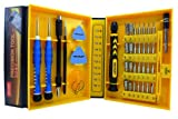LB1 High Performance New Professional Tools Set for Dell Inspiron Mini 10 (1012) Notebook Laptop Multipurpose 38-Piece Precision Screwdrivers Repair Tools Kit