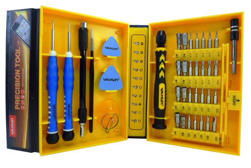 Lb1 High Performance New Mini Universal Tools Kit For Samsung Un50Eh5300 50-Inch 1080P 60Hz Led Hdtv Multipurpose 38-Piece Precision Screwdrivers Repair Tool Set