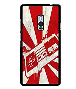 printtech Pop Culture Game Back Case Cover for One Plus Two::One Plus 2::One+2