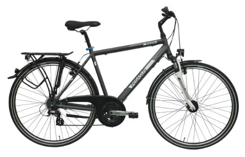 Pegasus Piazza Trekking grau 21K 2014 Trekking Herren - Farbe grau-matt - Produktart Herrenfahrrad - Rahmentyp Trekking - Größe 58 cm