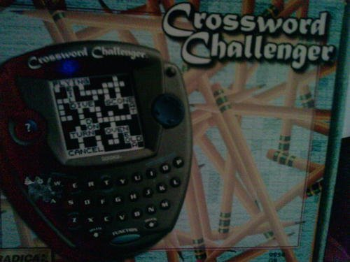 Crossword Challenger Game by Radica - 1