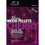 Traeger IndustriesPEL309Wood Barbeque Pellets-CHERRY BARBEQUE PELLETS