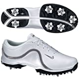Nike Ace EU Women's Golf Shoe - White/Charcoal/Metallic Silver