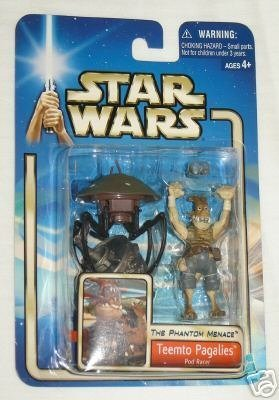 Star Wars The Phantom Menace Teemto Pagalies Pod Racer Action Figure