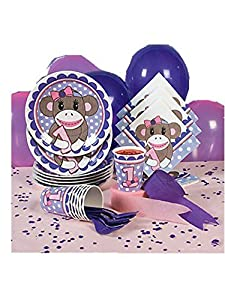 Miss Sock Monkey Basic Party Pack at 'Sock Monkeys'
