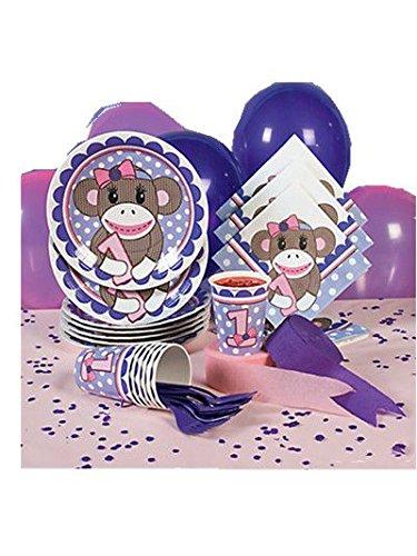 Miss Sock Monkey Basic Party Pack at 'Sock Monkeys'