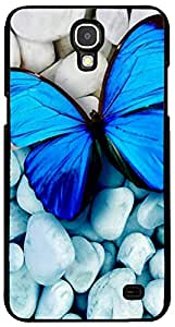 PrintVisa 2D-HTCX-D8167 Animal Butterfly Case Cover for HTC One X