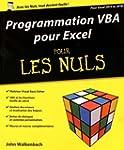 Programmation VBA pour Excel 2013 et...