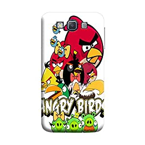 MakemyCase Samsung A5 Angry Birds 3D Matte Finishing Printed Designer Hard Back Case Cover (Multicolor)