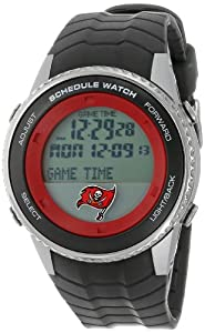 NFL Mens NFL-SW-TB Schedule Series Tampa Bay Buccaneers Watch by Game Time