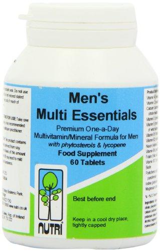 Nutri 50mg Multi Essentials Men 60 Tablets